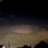 夜の雷雲はけっこう綺麗