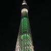 東京スカイツリーからの夜景。