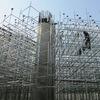 An toàn lao động của việc sử dụng giàn giáo trong xây dựng.