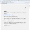 【詐欺メール】件名:Security issue has been detectedというAppleを騙った偽装メール