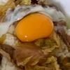 すき焼き翌朝の朝食は牛丼に限る