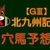 【GⅢ】北九州記念 結果 ◎レッドアンシェル的中