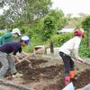 3年生の農業のエポック授業の始まり Feldbauepoche der 3Klasse