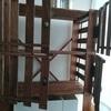 100円ショップ「ダイソー」のスノコで木製シェルフの扉をつくる!