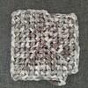 【かぎ針編み日記】四角底編み