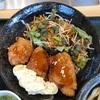 はなまるうどんの鶏千コラボメニュー「チキン南蛮定食」