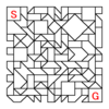 四角渡り迷路:問題22