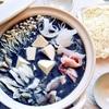 魔女の黒鍋!?美味しさ魔法級☆~黒ゴマ豆乳シャンタン鍋~
