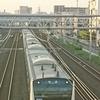 E233系7000番台電車の送り込み回送
