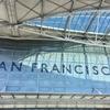 雨のサンフランシスコに到着、早速シーフード!