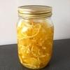 ☆手作りレモンシロップで冬に備える