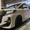 30アルファード 車高調取付 TEIN FLEX A & EDFC ACTIVE PRO 減衰力自動調整