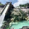 草津温泉の湯畑と西の河原公園を歩く