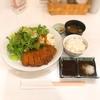 奈良のうまいものプラザで「ヤマトポークの豚カツセット」