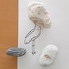 「ハシビロコウに驚く魚。に気づかないハシビロコウ」糸魚川ピクチャーストーン(紋様石)vol.53