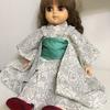 お人形さんの着物を手作り 試作品第一号