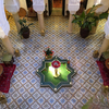 猛暑のモロッコ・マラケシュへの旅・旅の宿・Riad Adriana その1