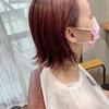 前回ブリーチからの【ピンクオレンジカラー】で秋ヘアカラーにイメージチェンジ