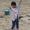 キス釣り 白尾海岸 2017 6
