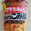 【新製品アクマ的ウマさ!】日清『チキンラーメン アクマのキムラー ぶっこみ飯』の実食した感想【胃を切った人もなんとかイケる】