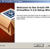 VirtualBox を Windows にインストール