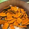 かぼちゃ大好き3歳児🎃勝間式🎃かぼちゃご飯