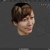 写真から人の顔を再現するBlenderアドオン「FaceBuilder」を試す。 製作編
