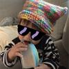ハンドメイド 編み物初心者でも100均グッズで簡単に作れるベビー&キッズの『ねこみみ帽子』