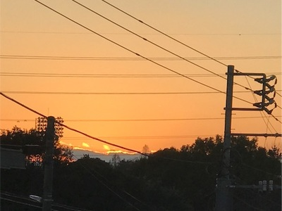 夕陽ランニング〜夕日が丘広場へgo!!〜