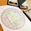願いを叶える花曼荼羅塗り絵ワークショップ☆無料ホロスコープリーディング付き!