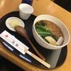 【青山2丁目青山通り沿い】あおやま長寿庵:揚げ玉そばがなんとも美味しい