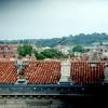 ニームのローマ円形闘技場からの眺め