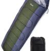 LICLI  封筒型シュラフ(寝袋) 220cm 最低使用温度 -10度