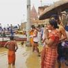 """""""ヒンドゥー教の聖地""""バラナシへ!〜朝の沐浴。夜のプジャー。インドを歩く〜"""