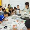 四日市津 夏休み子供 ジェルキャンドル教室開催しました 三重四日市津 中日文化センター