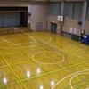 体育室、見違えるほど綺麗に!