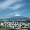 新幹線から富士山を@2020年3月