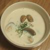五穀米レシピ#19 もち麦のクラムチャウダー(ダイシモチ使用)