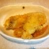 チキンカツ、牡蠣フライ、アボカドサラダ
