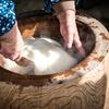《つかないおもち》もち粉で簡単に!つきたてみたいなお餅の作り方《のびーーーる》