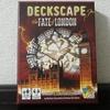 リアル謎解きゲームをカードで体感『DECKSCAPE The FATE of LONDON(デクスケープ:ザ・フェイト・オブ・ロンドン)』の感想