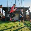 長距離選手のプライオメトリックトレーニングの利点(高い着地衝撃に対応することを助け、筋のコンプライアンス(柔らかさ)を左右するゴルジ腱紡錘を徐々に抑制して、推進力とRE、RFDの向上を促す)