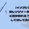 【インプレ】鱒レンジャーを使うと何が釣れる?実釣して試してみた!
