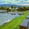 びふかアイランドの三日月湖(北海道美深)