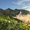 【爺ヶ岳〜鹿島槍ヶ岳】2015年7月28〜29日 見どころ満載! オプションで雲海とブロッケンも付いてきました。(テント泊登山)