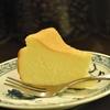 四谷三丁目の「猫廼舎」でチーズケーキ。