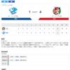 2020-06-26 カープ第7戦(ナゴヤドーム)○4対1中日 (4勝2敗1分)誠也2発、大瀬良連続完投勝ちで2勝目。