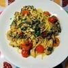 さばのオリーブオイル漬け缶で簡単!鯖とパセリのペペロンチーノの作り方。