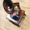【おすすめプレゼント】蓄音機型オルゴール♪