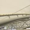 【スポーツ施設】競技場屋根・スタンド屋根・防球ネットなど